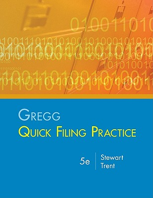 Gregg Quick Filing Practice Kit By Stewart/ Trent
